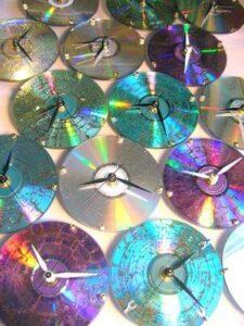 Zegarki z płyt CD