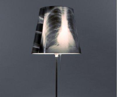 lampa ze zdjęć rentgenowskich, jak samemu zrobić lampę, lampa zrób to sam, klosz