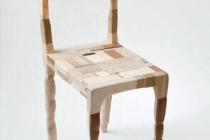 Amy Hunting i drewniane skrawki